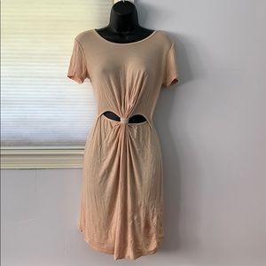 Dresses & Skirts - nude cut out dress